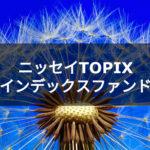 【投資信託】ニッセイTOPIXインデックスファンドについて調べてみました。
