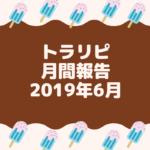 【FX】トラリピ 2019年6月の運用実績まとめ