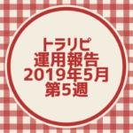 【FX】トラリピ 2019年5月第5週の運用実績