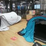 デカトロンでQuechua(ケシュア)のポップアップ式テント購入レポート