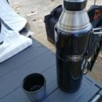 【サーモス】アウトドアシリーズの ステンレスボトル(ROB-001) をファミリーキャンプで使用。8枚の写真でご紹介。